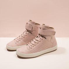 af7e1f5609 Sneakers femme - Lacoste Tamora Hi Sneakers Femme, Chaussures De Baskets  Roses, Chaussures De