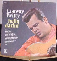 Conway Twitty Lp Hello Darlin' Near Mint #AlternativeCountryAmericanaContemporaryCountryCountryPopNashvilleSoundProgressiveCountryTraditionalCountry