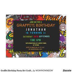 Art Birthday, Birthday Ideas, Bar Mitzvah Party, Paint Themes, Arts And Crafts, Art Crafts, Graffiti Wall Art, Paint And Sip, Birthday