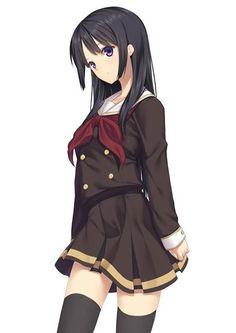 Kosaka Reina Render by Hyori-sama on DeviantArt Manga Art, Anime Manga, Anime Art, Guys And Girls, Cute Girls, Cool Girl, Anime Character Drawing, Cute Anime Character, Kawaii Girl