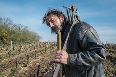 Jean-Yves BARDIN photographe - Vigneron, Vigne, portrait, vin bio, biodynamie, Jo Landron
