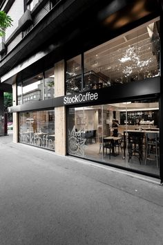 architecture Stock Coffee project Retail Space Converted Into Fresh Coffee Shop Design in Serbia