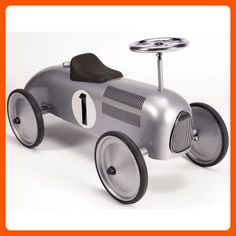 Schylling Silver Racecar Metal Speedster - Fun stuff and gift ideas (*Amazon Partner-Link)