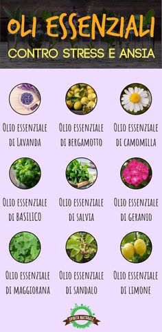 #oliessenziali #stress #spiritonaturale Fresh And Clean, Doterra Essential Oils, List, Natural World, How To Know, Stress, Natural Remedies, The Cure, Healing