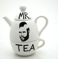 I pitty the fool who drinks tea...lol