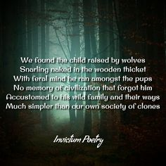 #InvictumPoetry #poetry #poems #poetryisnotdead #poetryislife #poetry_addicts #poet Poems About Society, Raised By Wolves, Forget Him, Raising Kids, Civilization, Poetry, Mindfulness, Memories, Memoirs