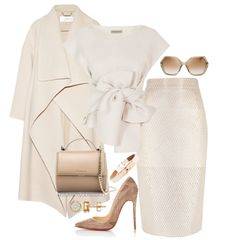 what to wear with CHRISTIAN LOUBOUTIN Laser-Cut Kristali Pumps givenchy mini pandora box clutch