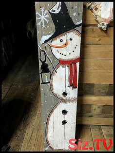 20 Brilliant DIY Pallet Furniture Design Ideas to Inspire You - diy pallet creations Winterdeko Large Christmas Decorations, Christmas Wood Crafts, Pallet Christmas, Snowman Crafts, Noel Christmas, Christmas Signs, Christmas Projects, Holiday Crafts, Christmas Ornaments