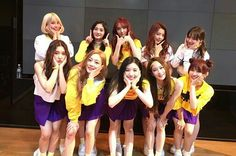 Pristin first debut stage