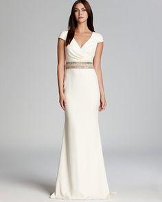 REVEL: Sleek Wrap Wedding Gown