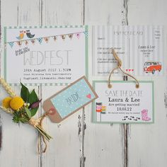 Wedfest is the perfect wedding stationery collection for that relaxed, chilled out, rustic outdoor festival wedding. Farm Wedding, Boho Wedding, Wedding Day, Wedding Invitation Design, Wedding Stationary, Festival Themed Wedding, Save The Date Cards, Civil Ceremony, Perfect Wedding