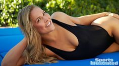 Ronda Rousey Arms | UFC Champ Ronda Rousey Featured in Sport's Illustrated Swimsuit ...