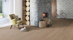 XHCY4MFD Boen Parkett Chaletino Landhausdiele 300 mm Eiche Sand gefast gebürstet Live Natural geölt