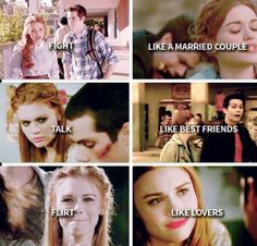 Couple/friends/lovers that's Stydia bitches Scott Mccall, Melissa Mccall, Teen Wolf Stydia, Teen Wolf Dylan, Dylan O'brien, Alphabet A, Teen Wolf Funny, Teen Wolf Memes, Mtv