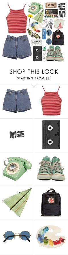 """""""90s aesthetic ☪"""" by rnmrnd ❤ liked on Polyvore featuring Ann Taylor, Topshop, Luckies, Converse, ...Lost, Fjällräven, Fishs Eddy, Swarovski and Pointer"""
