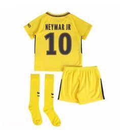 PSG Neymar Jr 10 Bortaställ Barn 17-18 Kortärmad Psg, Paris Saint, Neymar Jr, Saint Germain, Saints