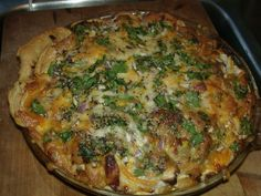 Garlic Pie pellet grill bbq recipe