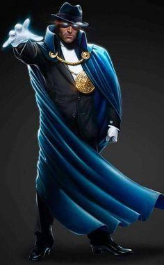The Phantom Stranger by Mike Thompson Dc Comics Heroes, Dc Comics Characters, Batman Comics, Comic Book Heroes, Comic Books Art, Comic Art, Book Art, Dr Fate, Star Trek