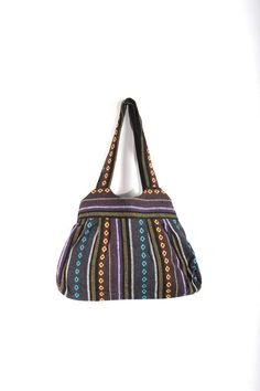 Nice Tote Bag Cotton Fabric Hmong Handmade by ThaiHandbags on Etsy, $12.99