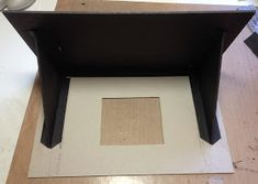 Hi everyone :-)   Here is the tutorial with measurements for the house box for the children`s hour mini album.   The stand, box,stair and r...