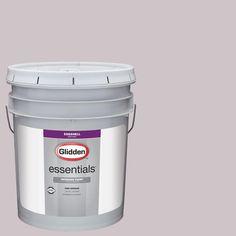 Glidden Essentials 5 gal. #HDGR11U Turtledove Rose Eggshell Interior Paint