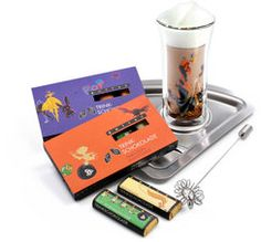 """Zotter Chocolate """"All Inclusive"""" Drinking Chocolate Set - Genuss Region International Cooking Supplies, All Inclusive, Barware, Drinking, Chocolate, Chefs, Tableware, Gifts, Gift Ideas"""