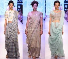 Indian Fashion Designer Saree Designs