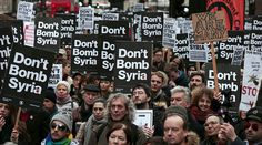 Don't Bomb Syria! Thousands protest against proposed UK military action — RT UK