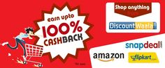 DiscountWaala.com is India's emerging Cashback and Coupons website. Our motto is to make shoppers avail maximum saving on their online purchases at all leading Brands.