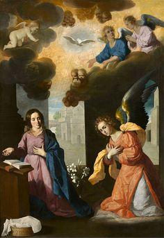 La Anunciación, por Francisco de Zurbarán - Francisco de Zurbarán - Wikipedia, la enciclopedia libre