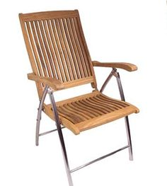 Beau Seateak Teak Deck Chairs