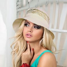 """""""Elegant women floppy beach hat Linen sun hat Panama hat Womens summer hats One size, from 7 to 7 1/4 US size - 21.5\""""- 22.5\"""" , (M-L international - 55-58 cm) Color: available light beige as shown. Material: 100% organic linen made Ukraine Made to order during 5 work days Elegant floppy linen sun hat can become a favorite summer accessory of a modern fashionista. The breathable mesh structure form of the headdress with a comfortable tulle and straight slightly lowered fields emphasizes the subt Headdress, Headpiece, Summer Hats For Women, Summer Accessories, Light Beige, Elegant Woman, Natural Linen, Sun Hats, Summer Beach"""