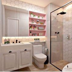 DIY bathroom decor and ideas on a budget. Ideas for organization, storage, decor… – Diy Bathroom İdeas Restroom Design, Bathroom Interior Design, Home Interior, Toilette Design, Bad Inspiration, Bathroom Inspiration, Dream Bathrooms, Dream Rooms, Marble Bathrooms