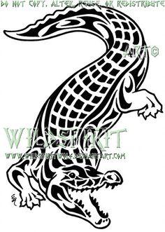 Saltwater Crocodile Tattoo by WildSpiritWolf on DeviantArt Weird Tattoos, Tribal Tattoos, Cool Tattoos, Alligator Tattoo, Crocodile Tattoo, Tattoo Coloring Book, Surf Tattoo, Saltwater Crocodile, Leather Tooling Patterns