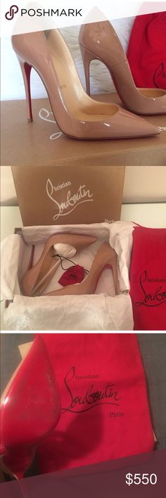 Christian Louboutin so Kate shoes🌸 I worn only once 30 min on my friend's wedding ceremony. Please be sure you have tried this shoes before you purchase. It's a size 7.5 but fits size 7 perfectly. No return! No trade! I bought in Barney's and paid $725. Only reasonable offer please 🌸 Christian Louboutin Shoes Heels