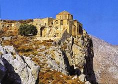 Monemvasia's unconquered Upper Town which hosted nobles and aristocrats during the Byzantine periods in Southern Greece is dilapidated and covered with vegetation.  The Peloponnesian town is about to regain its lost glory after restoration works started recently