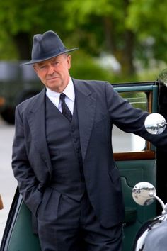 Michael Kitchen, from the wonderful ITV series, Foyle's War.  Love this guy.