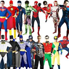 Deluxe superhero #muscle mens fancy dress dc marvel #comic #heroes adult costumes,  View more on the LINK: http://www.zeppy.io/product/gb/2/400757957779/