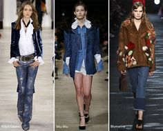 Fall/ Winter 2016-2017 Fashion Trends: Denim Trends 2017 | For more inspirations visit and follow: www.delightfull.eu