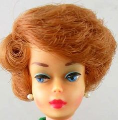 1960's Barbie with a Bubble Cut hairstyle