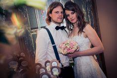 Noivos Michel e Marivete