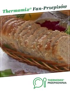 Chleb codzienny na zakwasie żytnim jest to przepis stworzony przez użytkownika ElaK. Ten przepis na Thermomix<sup>®</sup> znajdziesz w kategorii Chleby & bułki na www.przepisownia.pl, społeczności Thermomix<sup>®</sup> Baked Potato, Pork, Food And Drink, Potatoes, Meat, Baking, Ethnic Recipes, History, Thermomix
