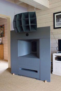"""古典音響。墾丁大腳牛教練: 箱體設計...if I can translate, """"Buy Super-Good, Horn-loaded, Altec a800 speakers and make your Neighbors Super-Mad""""...you're welcome!....K"""