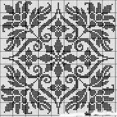 Cross stitch - chart by di gough knitting squares, fair isle knitting patte Fair Isle Knitting Patterns, Fair Isle Pattern, Knitting Charts, Knitting Squares, Knitting Ideas, Free Knitting, Fair Isle Chart, Sock Knitting, Knitting Tutorials