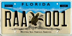 Distribution of Special Fee  Marine Resources Conservation Trust Fund in the Florida Fish and Wildlife Conservation Commission to conduct sea turtle protection, research and recovery programs.