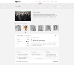 Buy Sonda - Creative Portfolio by mikgroup on ThemeForest. Sonda has clean view design, organized layers, well structured on the front. Creative Portfolio, Influencer Marketing, Proposal, Photoshop, Organization, Blog, Design, Getting Organized, Organisation