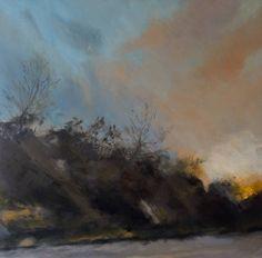 """Saatchi Art Artist karin moorhouse; Painting, """"Driving Rain and Sun 2"""" #art"""
