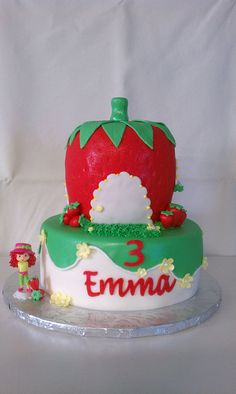 Strawberry Shortcake Birthday Cake. I would have loved this as a kid. She was my favorite.