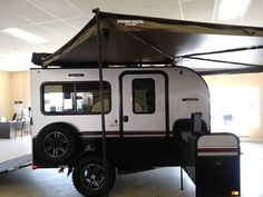 Toy Haulers For Sale, Toy Hauler Rv, Ultra Lite Travel Trailers, Enclosed Trailers, Kayak Camping, Rv For Sale, Camper Ideas, Campers, Recreational Vehicles