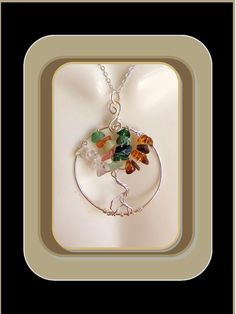four seasons,tree, necklace, winter, spring, summer,fall Birthstone Pendant, Birthstone Necklace, Gemstone Necklace, Grandmother Jewelry, Grandmother Gifts, Family Tree Necklace, Tree Of Life Necklace, Jewelry Tree, Jewelry Gifts